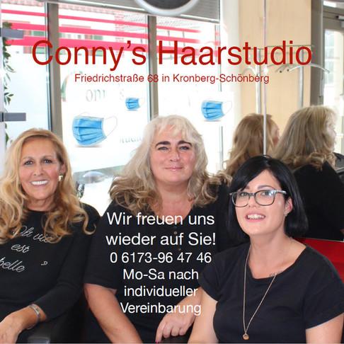 Conny's Haarstudio: frisiert wieder
