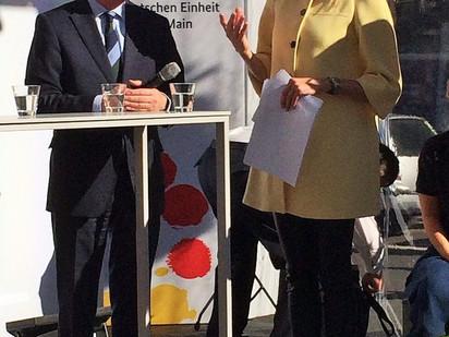 25 Jahre Einheit und Freiheit – Feierlichkeiten in Frankfurt