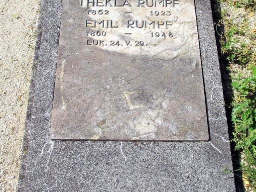 ...der Maler Emil Rumpf