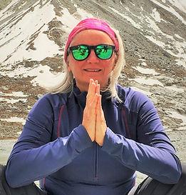 Yoga-Lehrerin Karina de Blanck-Lamberti