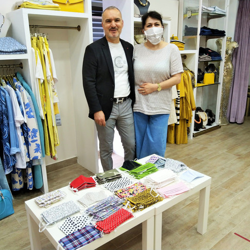 Schneiderei Yirtan: Baumwollmasken auch für Kinder