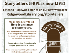 Storytellers @RPL is now LIVE