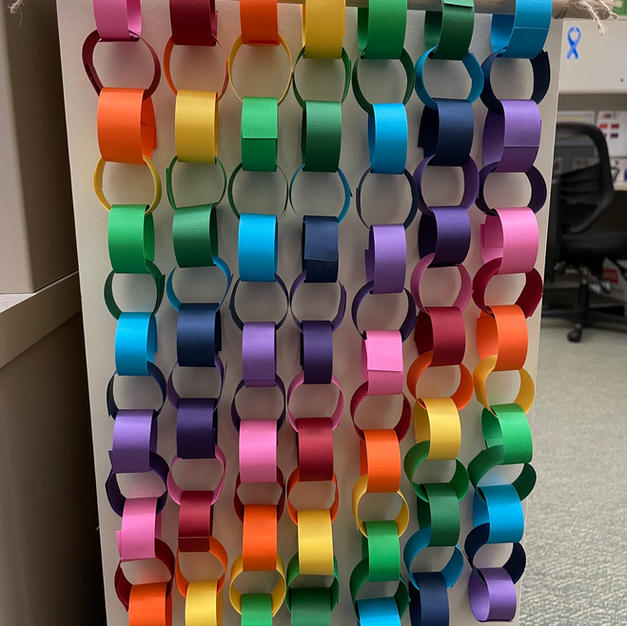Paper Chain Hangings