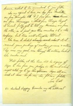Letter, 24 March 1945 part 2