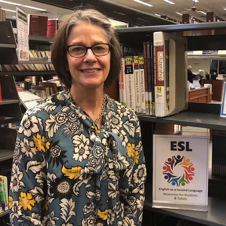 Victoria Hilditch; ESL Program Coordinator /Librarian