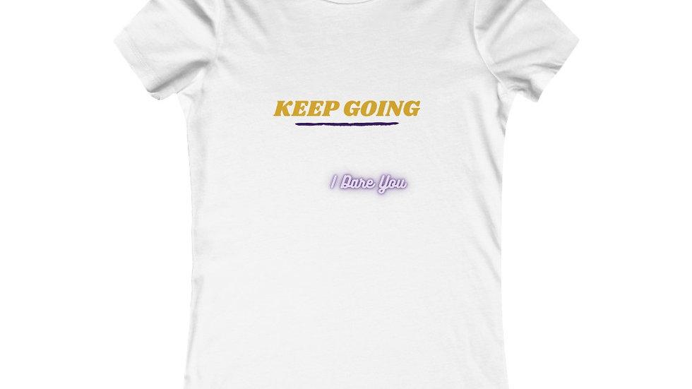 Keep Going Tee-Ladies