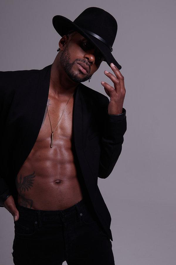 Donald DeP Paige Black Male Models