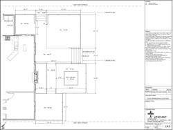 Deck Dimension Plan