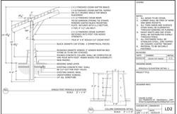Pergola Section Plan 1