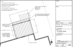 Peters Residence DECK PLAN