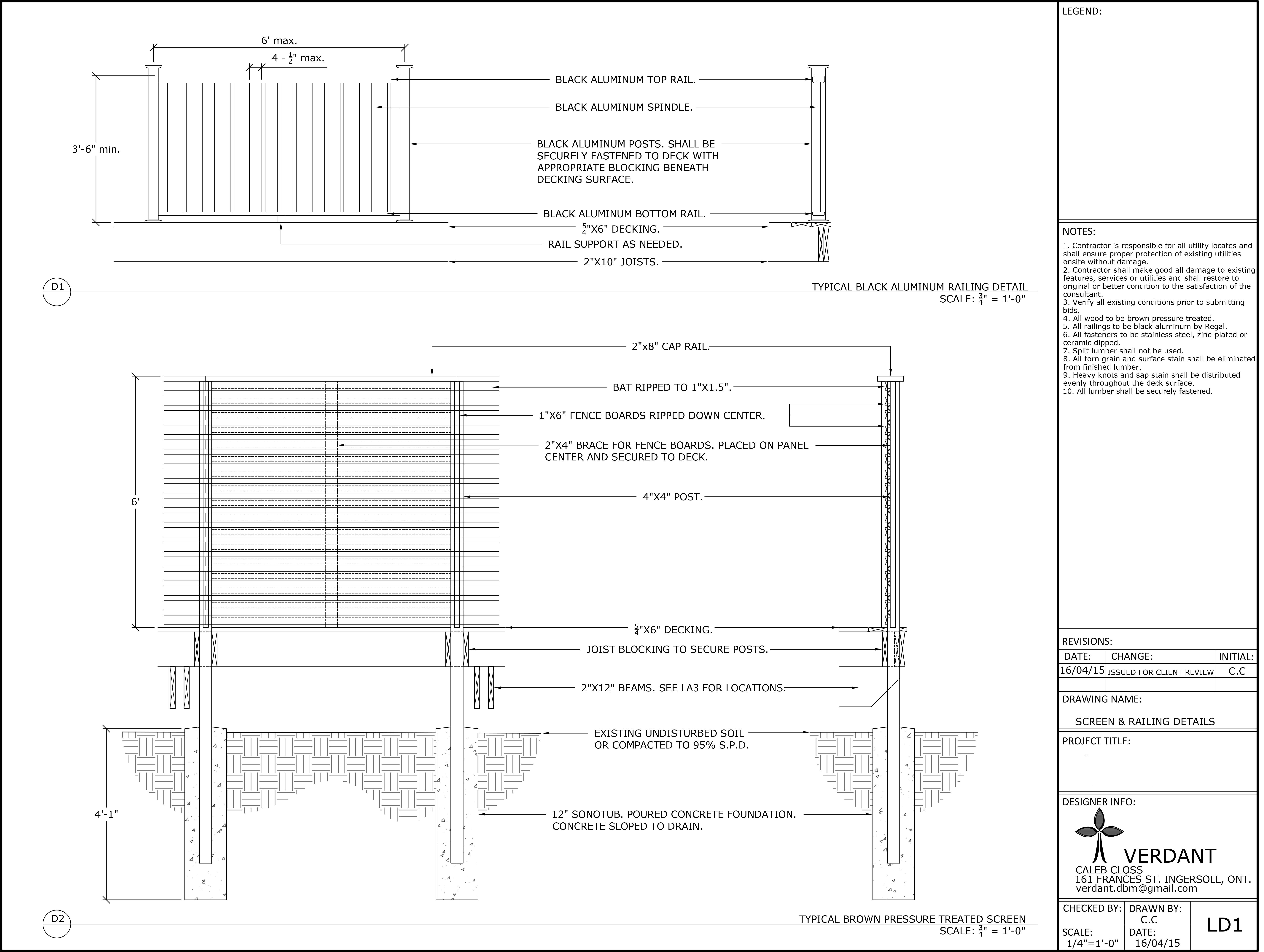 Deck Details 1