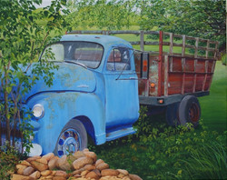 SOLD 'Blue Truck'
