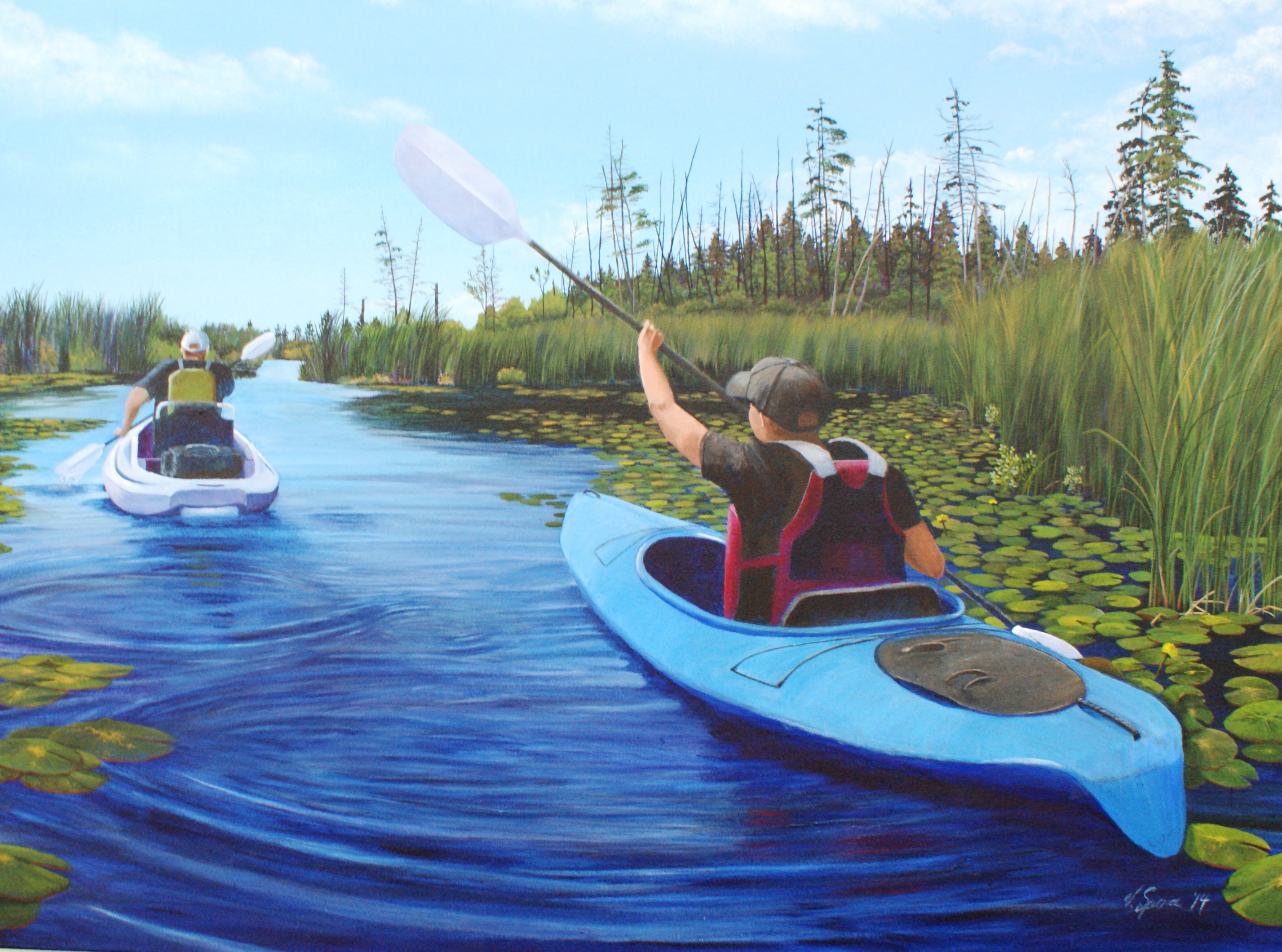 'Collins Creek Kayakers'.