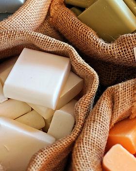 Barrette di sapone naturale