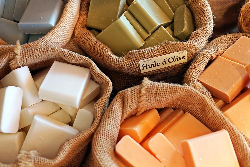 Natural soaps
