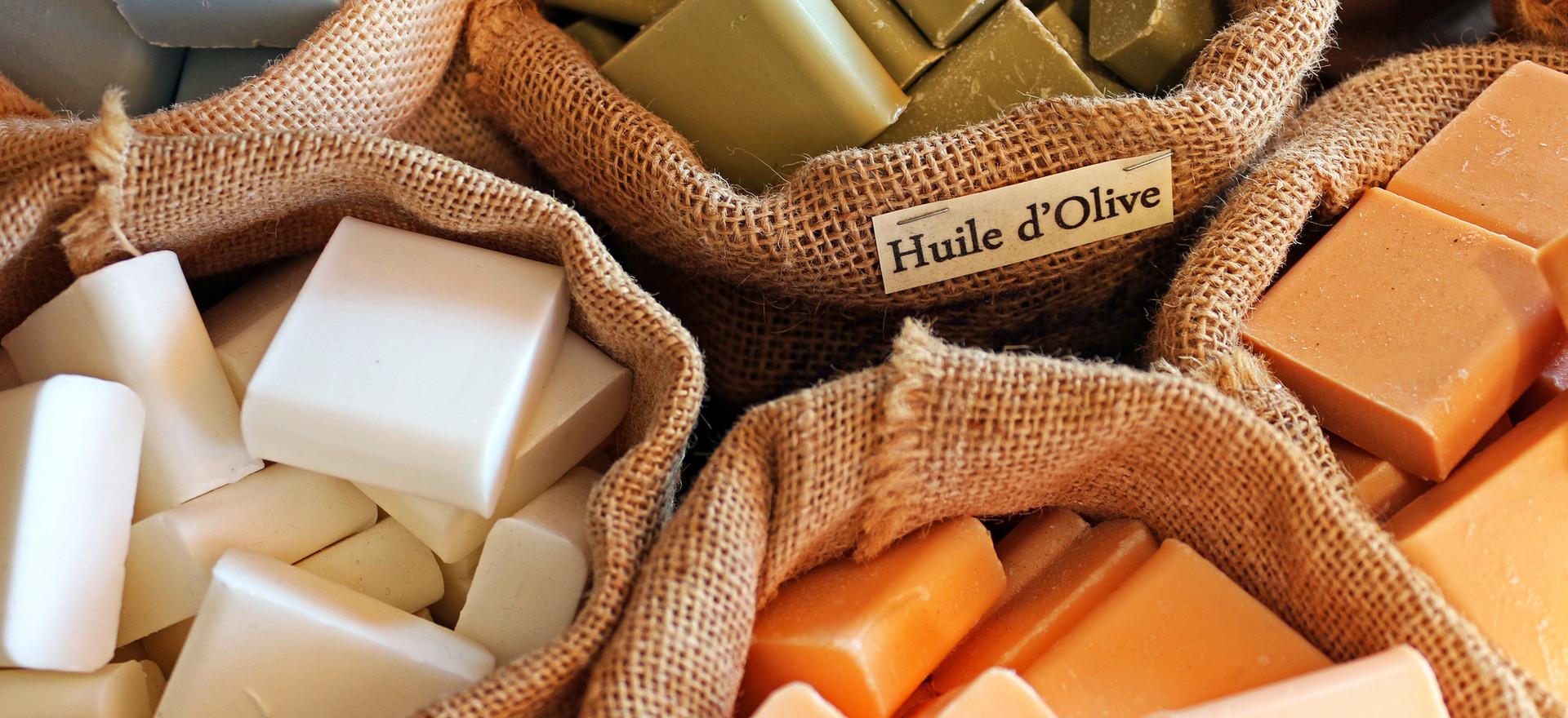 Barrette di sapone naturale | club nautico chia