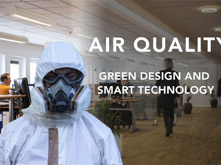 Green design and smart technology for air quality