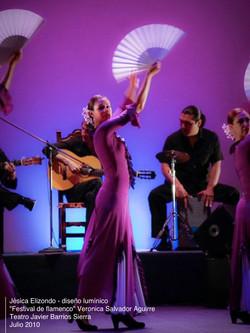 lighting design Flamenco 2010 / Veronica Aguirre