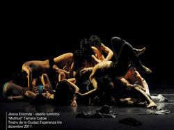lighting design Tamara Cubas / Multitud 2011