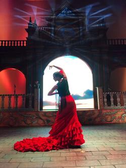 lighting design Festival Flamenco 2018