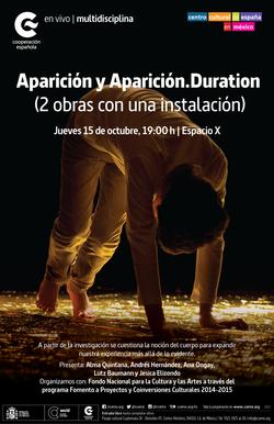 Aparición y Aparición.Duration
