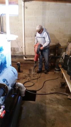 Pump House Piping Repair