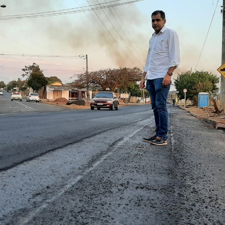 Betinho comemora conquistas para o bairro Novo Lima