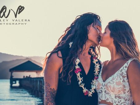 Princeville, Kaua'i, Hawai'i Wedding, Elopement, & Engagement Photography