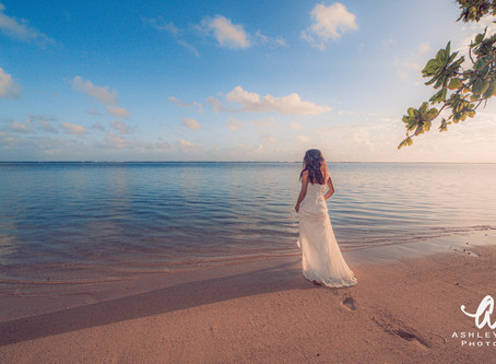 Blissful Bridal Session At Sunrise With Kaua'i Wedding Photographer Ashley Valera