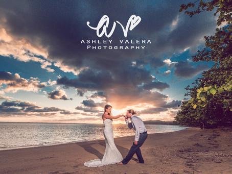 Kaua'i, Hawai'i Sunrise Couples Session | With Ashley Valera Photography