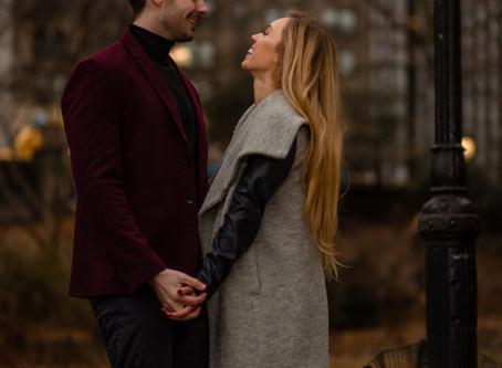 Central Park, New York Engagement Session