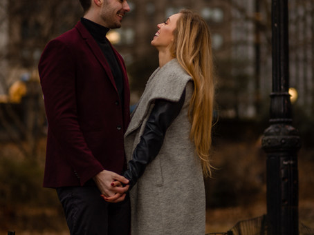 Central Park, New York Engagement Session
