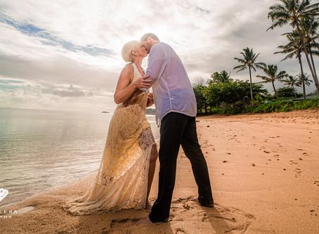 25th Wedding Anniversary Session | Kaua'i Wedding Photography By Ashley Valera