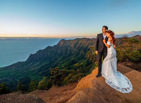 Kaua'i Elopement | On Top Of The World | With Ashley Valera Photography