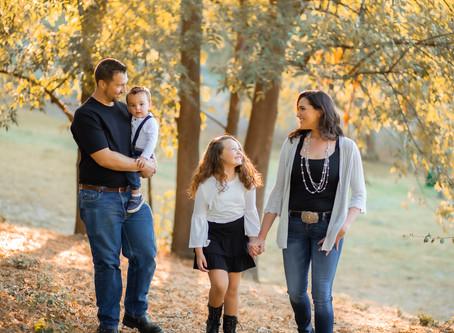 Kelley Family | Fall Family Photo Session In California | With Ashley Valera Photography