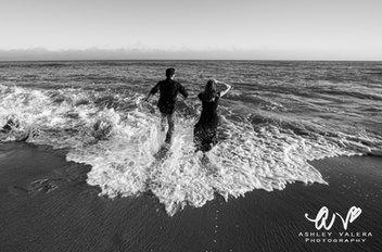 Ashley Valera Photography, Kaua'i, Hawai'i Wedding Photographer. This picture was taken in Malibu, California