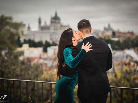 Engagement Session In Madrid, Spain.