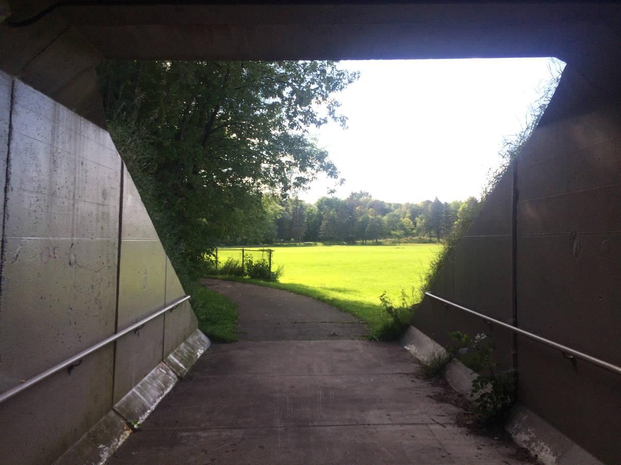 Irving entrance