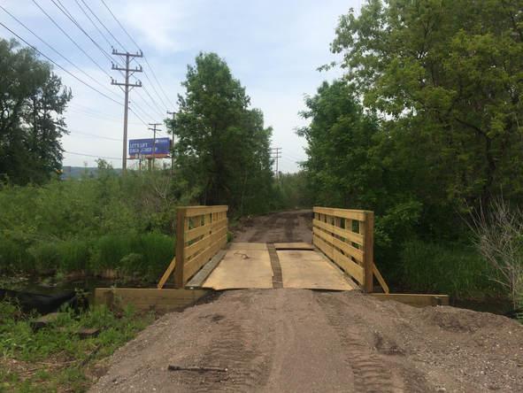 Shopper City Creek Bridge