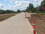 Crossing Oneota just east of the 40th Ave W entrance ramp to I35