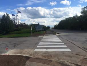 Central Ave Verso Entrance