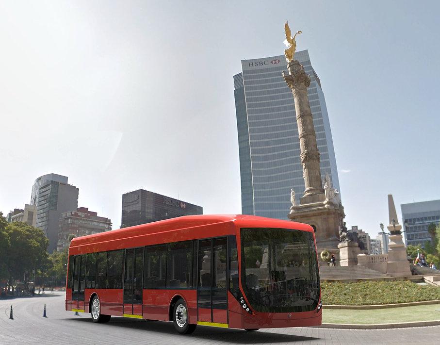 Autobús Eléctrico de Piso Bajo
