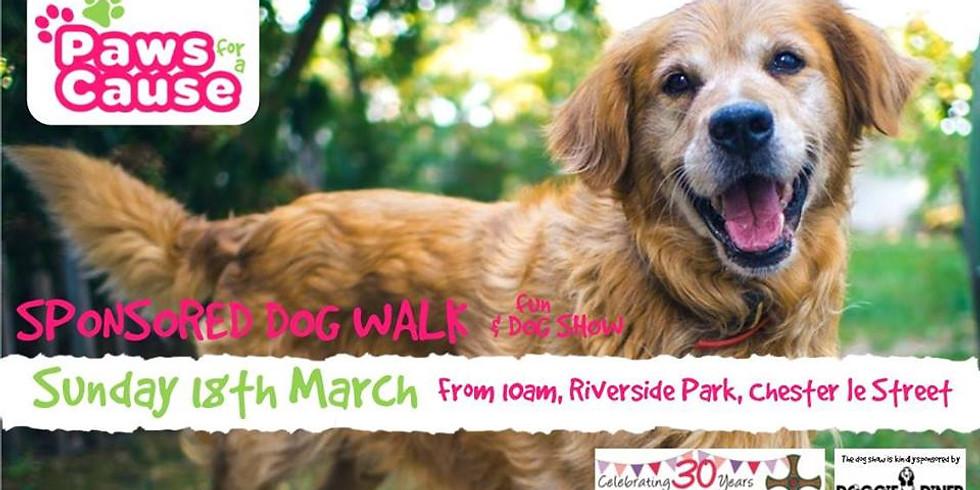 Paws For A Cause Sponsored Dog Walk & Fun Dog Show