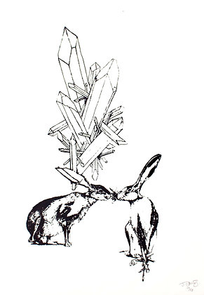 Two Hares, A3, 2014