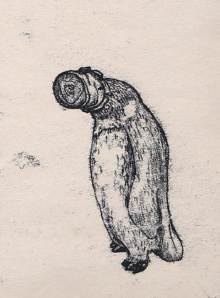 Plastic Tears Series (Penguin), 24cm x 30cm