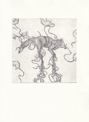 'To Hear the Wind in the Trees' | Etching