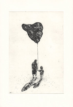 An Unfortunate Gift| Etching