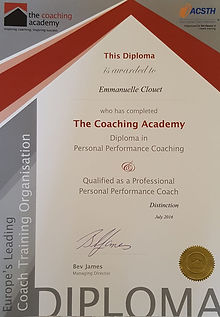 The Coaching Academy Performance Diploma