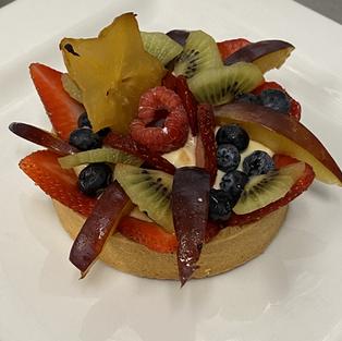 Fruit Tart (individual)