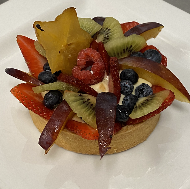 Fruits Tart (individual)